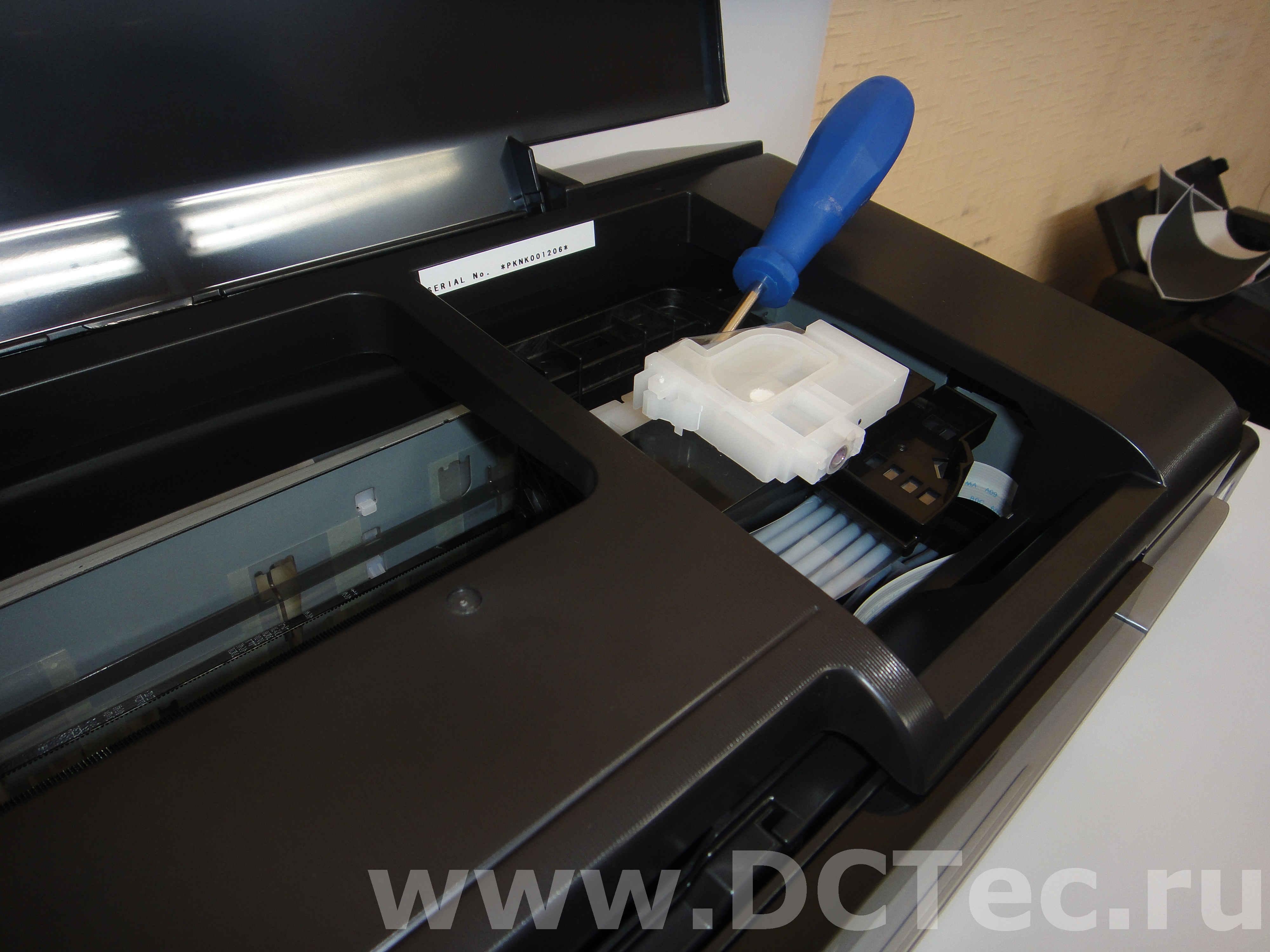 как прочистить принтер засохла краска епсон л 100 базе предложений